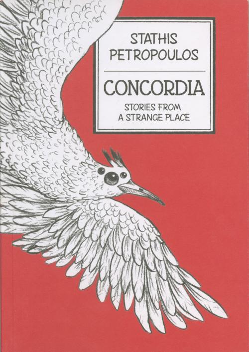 Book cover with illustration and text