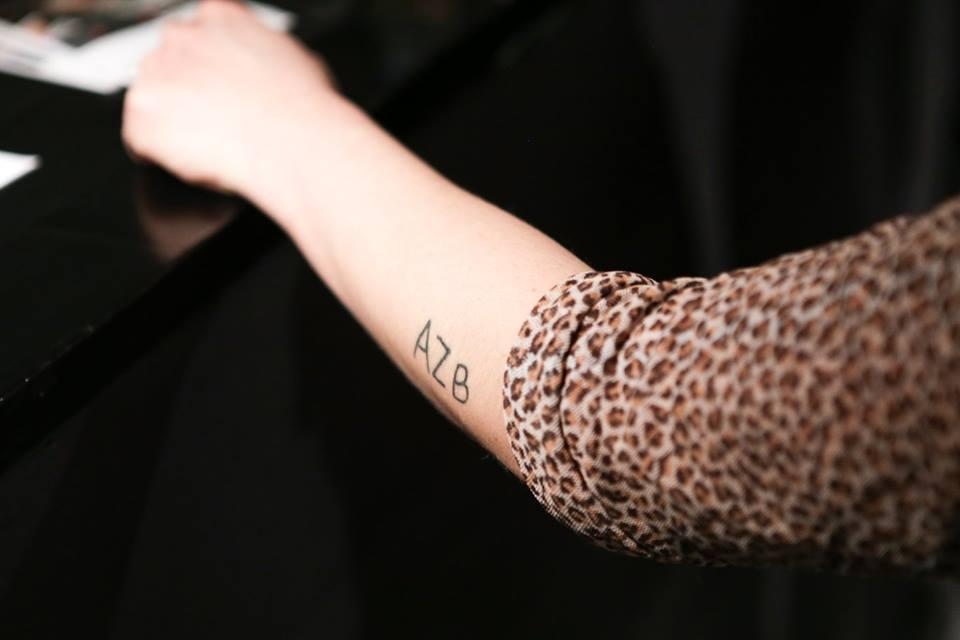 Picture of an arm with a tattoo
